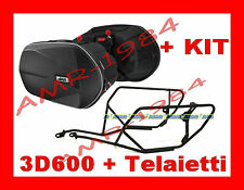 SIDE PANNIERS 3D600 + FRAME TE2110 YAMAHA XJ6 600 09 -2013 + SET 2110KIT