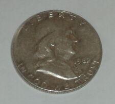 1962-D FRANKLIN HALF DOLLAR NICE
