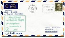 FFC 1969 Lufthansa First Flight LH451 Los Angeles Amsterdam Nederland California