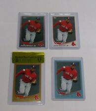 2013 Topps #282 Jackie Bradley Jr RC LOT BGS RAW 9.5 GOLD #D ROOKIE BLUE CHROME