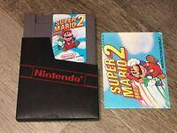 Super Mario Bros. 2 w/Manual & Sleeve Nintendo Nes Tested Authentic