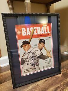 Mickey Mantle Signed 1953 Baseball Magazine