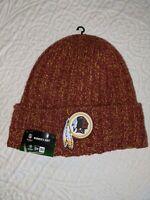 Washington REDSKINS New Era Knit Hat On Field Sideline Beanie Stocking Cap NEW
