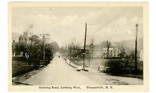 Pleasantville NY - OSSINING ROAD LOOKING WEST - Postcard