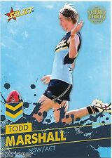 2016 Future Force Base Card (11) Todd MARSHALL Port Adelaide