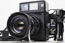 {NMint} MAMIYA Universal Press Body Sekor P 127mm f/4.7 6x9 Film Back From Japan