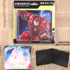 USA NEW - Marvic Comic Movie Ironman Red Bi Fold PU Leather Wallet