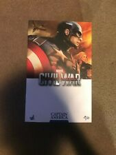 Hot Toys MMS350 Captain America Civil War with EXTRA Head and Helmet!