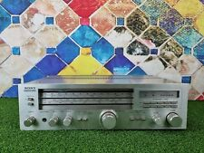 More details for sony str-333l stereo receiver amplifier - phono stage - silver made in japan
