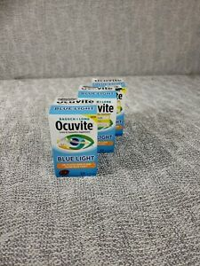 3 BAUSCH+LOMB OCUVITE EYE VITAMIN & MINERAL EYE PERFORMANCE, Blue Light 30 GELS