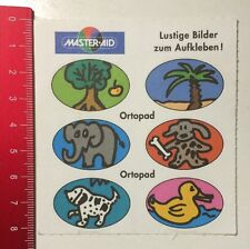 ADESIVI/Sticker: Master-Aid immagini divertenti da incollare-ortopad (310416194)