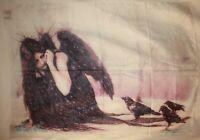 "Victoria Frances La Muerte Angel Cloth Textile Poster Flag Banner 30"" x 40"" New"