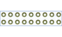 Genuine AJUSA OEM Replacement Valve Stem Seal Set [57019900]