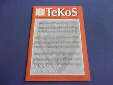 Tekos nr. 82/1996 Flandern Vlaams Teksten Kommentaren Studies