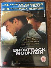 Heath Ledger Anne Hathaway BROKEBACK MOUNTAIN | Gay Cowboy Western | UK DVD