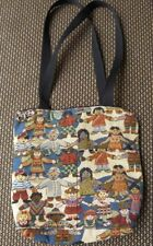 ALL THE CHILDREN OF OTHE WORLD Shoulder Bag Purse Satchel Handmade