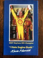 "2008 NASCAR Sprint Cup Shell Kevin Harvick schedule, ""2007 Daytona 500 Champion"""