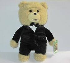 "Seth MacFarlane Ted Movie 12"" Soft Toy     Tuxedo Ted with Bow Tie"