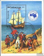 Nicaragua Block161 (kompl.Ausg.) gestempelt 1984 AUSIPEX `84