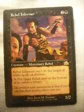 Rebel Informer  M:tG Magic the Gathering card MTG M:tg black creature Prophecy