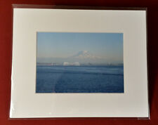 Tacoma Waterfront 8x10 matted print Photos by Lohi original wa mt rainier ocean