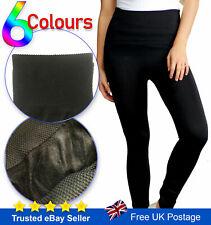 New Winter Leggings High Waist Thick Warm Tummy Control Fleece UK Sizes 8-22