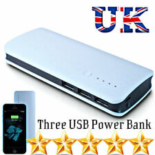 100000mAh Power Bank 3USB Smart Phone Battery Charger For Mobiles iOS & Android