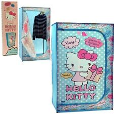 HELLO KITTY GIRLS CLOTHES SHOES WARDROBE BEDROOM FURNITURE STORAGE ORGANISER