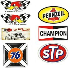 Champion Set Aufkleber/KingKerosin/Rockabilly/Oldschool/Retro/Hot Rod/Youngtimer
