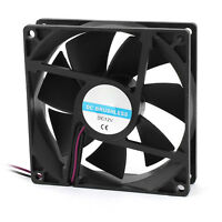 90mm x 25mm 9025 2pin 12V DC Brushless PC Case CPU Cooler Cooling Fan CT Y4 P4N6