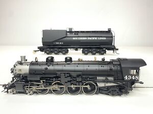 ATHEARN GENESIS HO Scale Southern Pacific MT-4 4-8-2 Steam Locomotive DCC/Sound