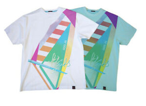 New Men's Kilo Goods Surf Comber Short Sleeve Cotton T-Shirt Tee XL Tiffany Blue