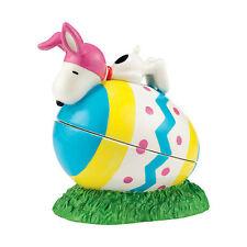 Dept 56 Peanuts 2015 Easter Beagle Egg Box #4043255 Nib Free Ship 48 States