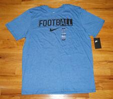 Nike Herren SWOOSH AMERICAN FOOTBALL T-shirt NEU XL extra large blau logo