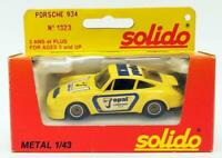 Solido 1/43 Scale Diecast Model Car 1323 - Porsche 934 Racing Car