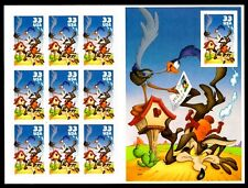 2000 - WILE E. COYOTE & ROAD RUNNER #3392 - Mint Sheet of 10 Postage Stamps