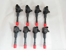 Set of 8 Ignition Coils for 2006-2011 Honda Civic Hybrid 1.3L w/free grease pack