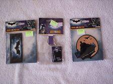 Batman: The Dark Knight - 2 x  Iron on Patch , 1 x  keyring