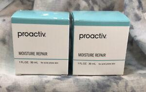 2 Proactiv Moisture Repair For Acne Prone Skin 1 FL OZ / 30mL each *NEW & SEALED
