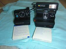 Konvolut POLAROID Land Camera Revue 1001 600/640 + 3 Päckchen Filme Vintage Film