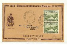 AB274 1934 Papua Port Moresby FDC {samwells-covers}PTS