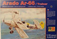 Arado Ar-66 / Trainer (LW) , RS Models, 1:72, Plastik, *NEU*