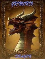 EBOOK CD GRANDE GRIMORIO DRAGO ROSSO magia libro esoterico strega + 20 INCENSI