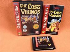 Lost Vikings Sega Genesis Game Super Fast FREE SHIPPING Complete!