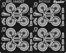 Brengun Models 1/144 BICYCLES Photo Etch Set