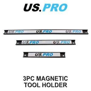 US PRO Tools 3pc Magnetic Tools Rail holder 6733