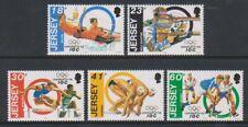 Jersey - 1994, International Olympic Committee set - MNH - SG 665/9