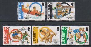 Jersey - 1994, International Olympique Committee Ensemble - MNH - Sg 665/9