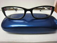 82140d9765f DEBRA VALENCIA Eyeglass Frames 803V BLACK 52-17-135 With Case New