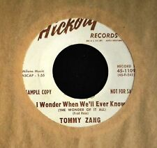OBSCURE COUNTRY Tommy Zang Hickory DJ 1109 I Wonder When We'll Ever Know